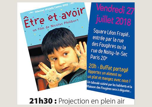 Affiche Ciné Voisins Fougères Zone Vive 2018