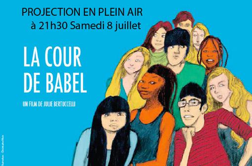 La cour de Babel, film de Julie Bertuccelli atelier de programmation affiche