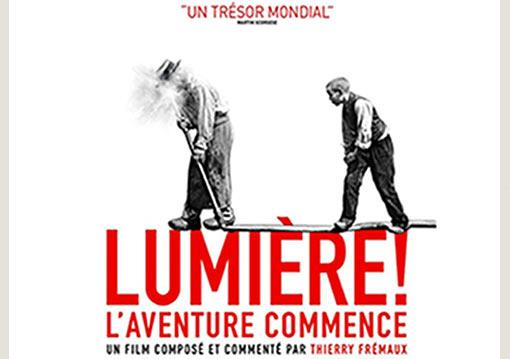 Affiche du film Lumière, l'aventure commence!