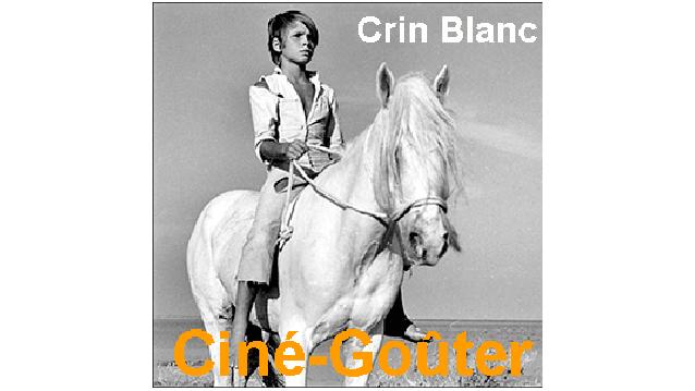 Crin Blanc projection du film Ciné-Gouter des Fougères