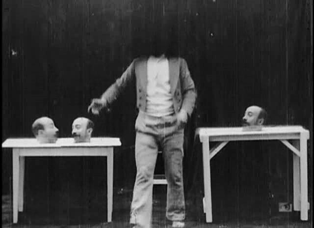 """Photo du film """"Un homme de tête"""" de Mélies"""