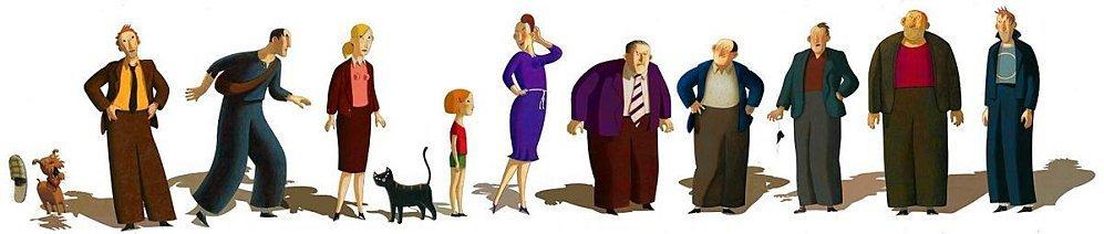 Les personnages du film
