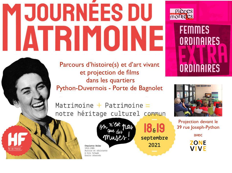 Journée du Matrimoine à Python 2021